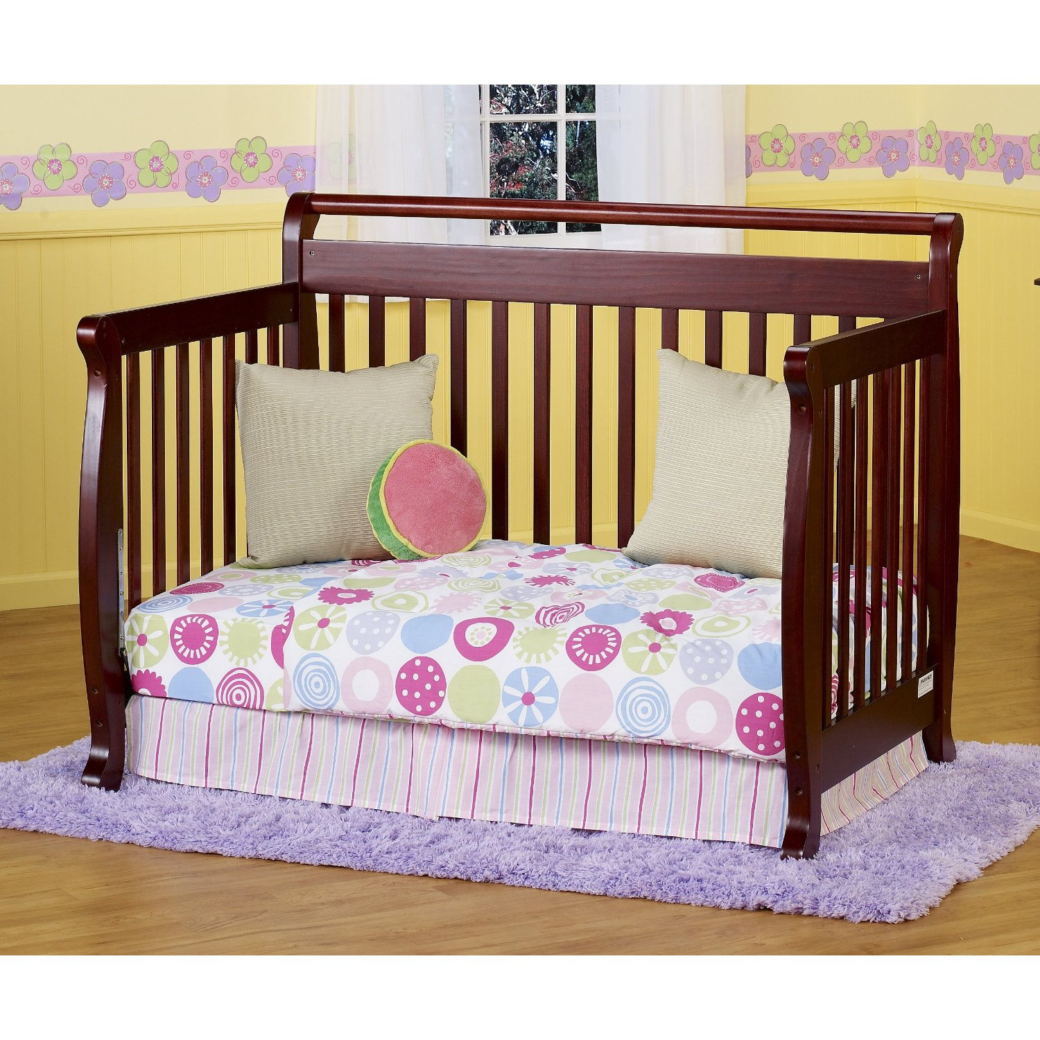 davinci emily 3-in-1 convertible crib instructions