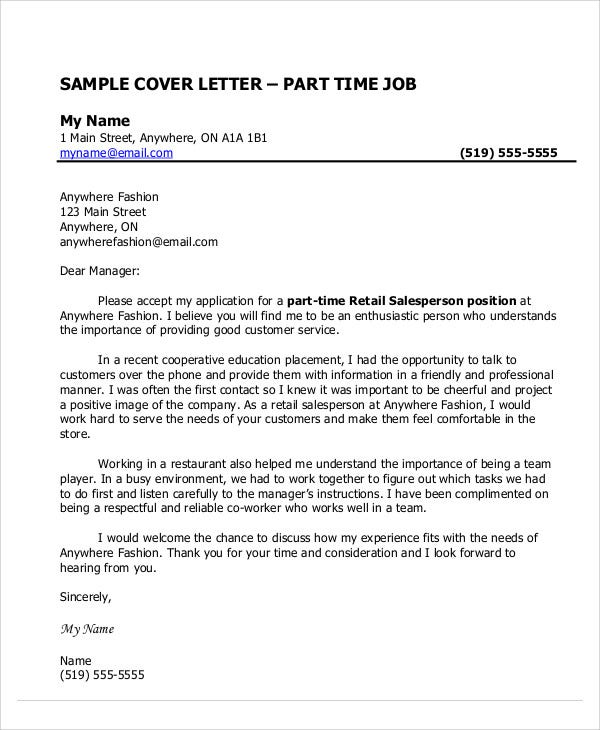 cover letter following instructions