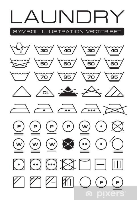 washing instruction symbols japan