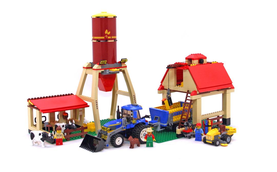 lego farm set 7637 instructions