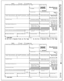 1099 misc income filing instructions