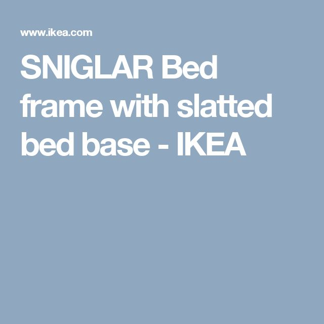 nesttun bed ikea instructions