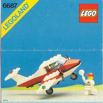 lego instructions siple plane