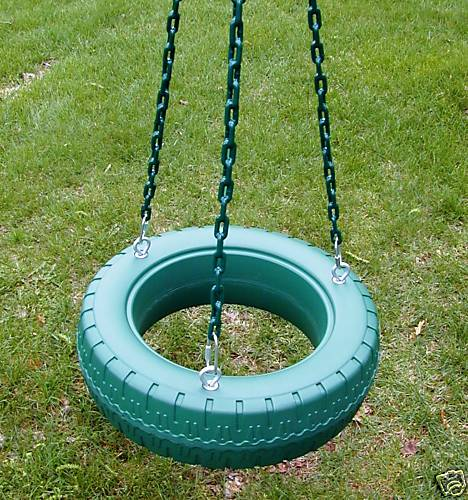 instructions for making a tire swing