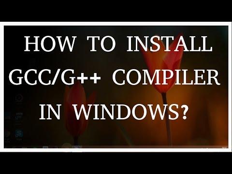 mingw c compiler instructions