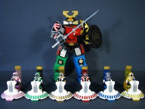 mega bloks power rangers samurai megazord instructions