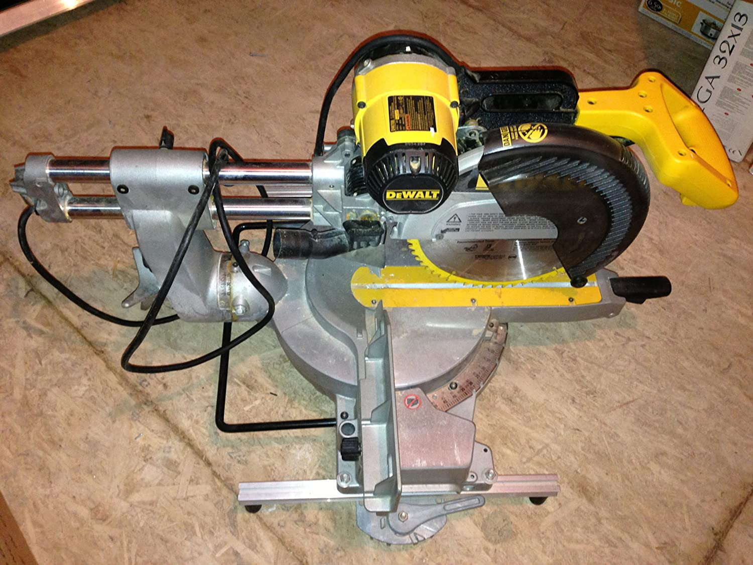 pro mitre saw instructions