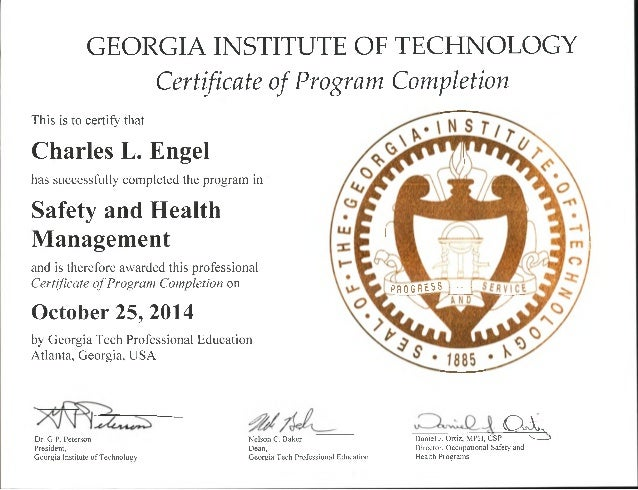 uga instructional technology certificate