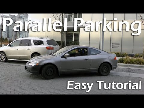 parallel parking instructions driving test