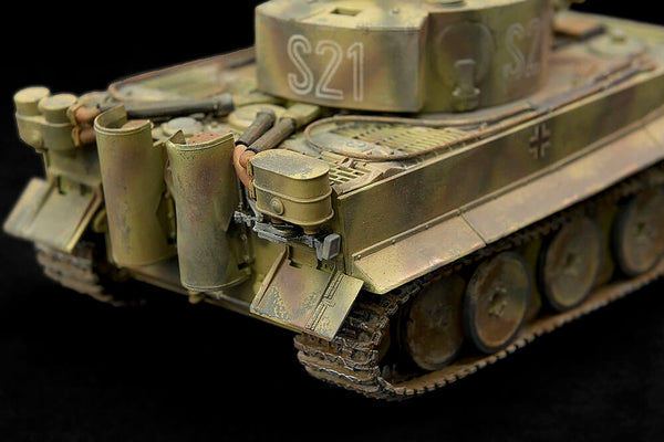 academy instructions 1 35 tiger 1 early