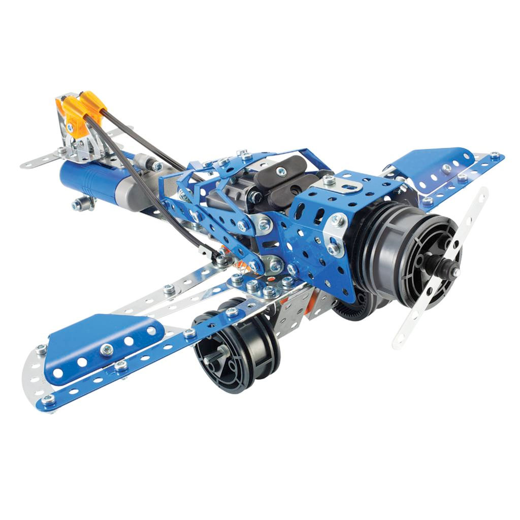 erector set robot instructions
