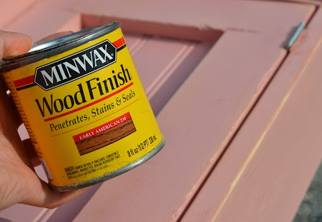 wood stain minwax instructions