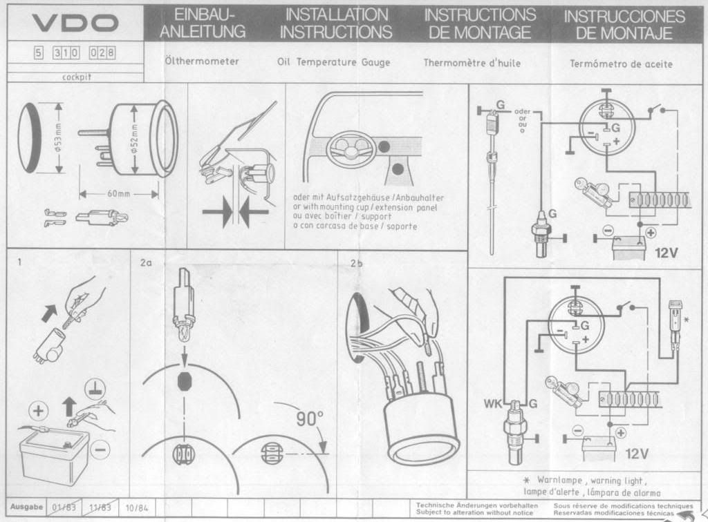 r&d fuel screw instructions