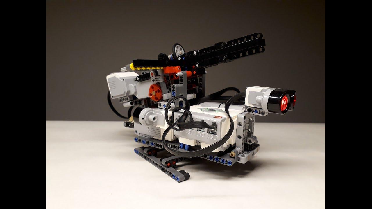 lego mindstorms gatling gun instructions