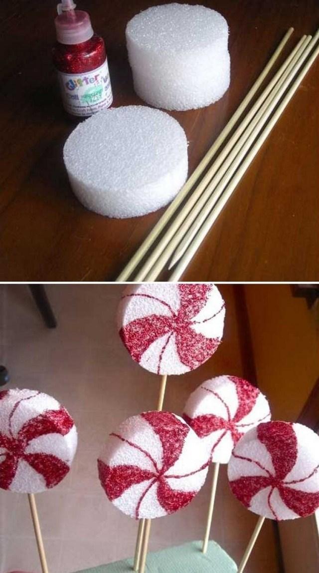 lollipop christmas tree instructions