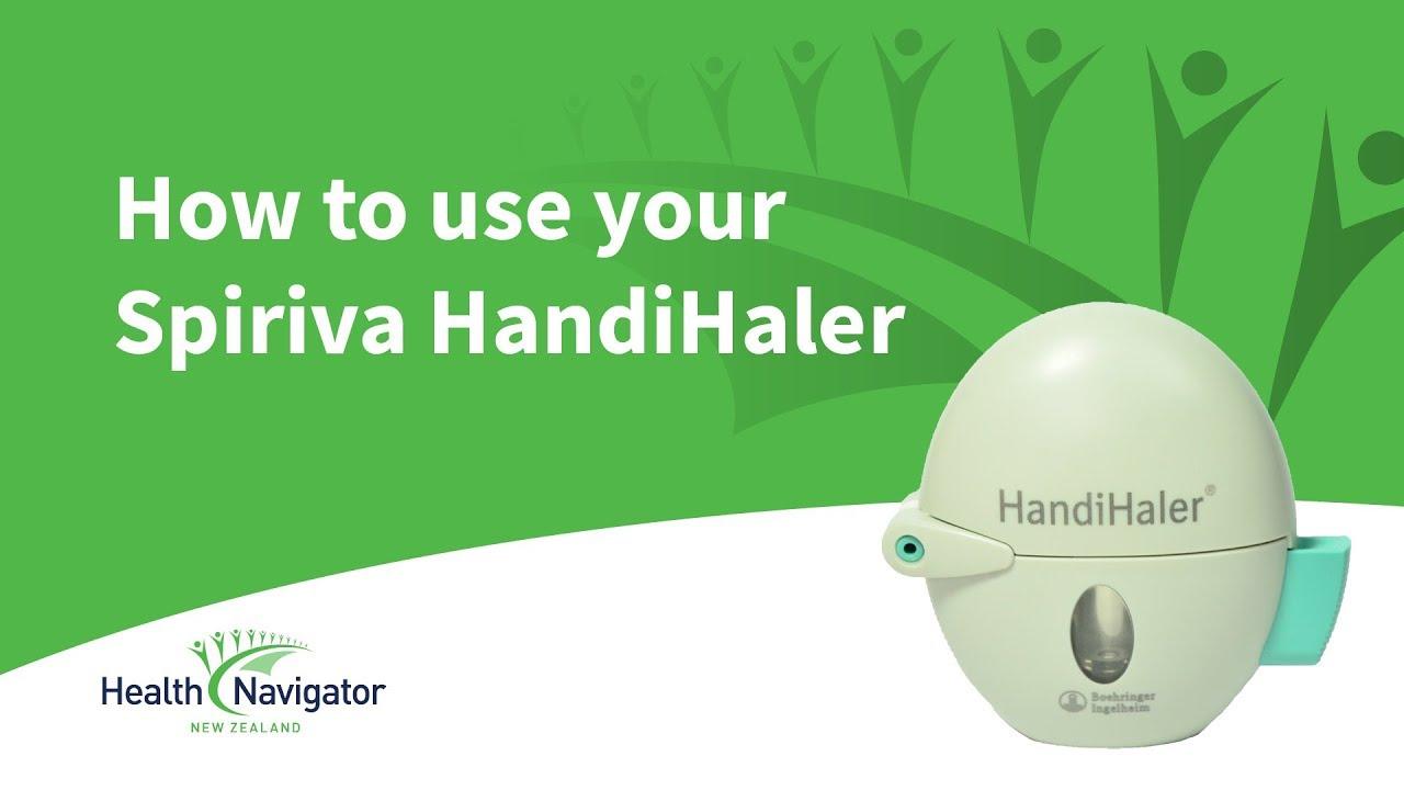 spiriva handihaler instructions use