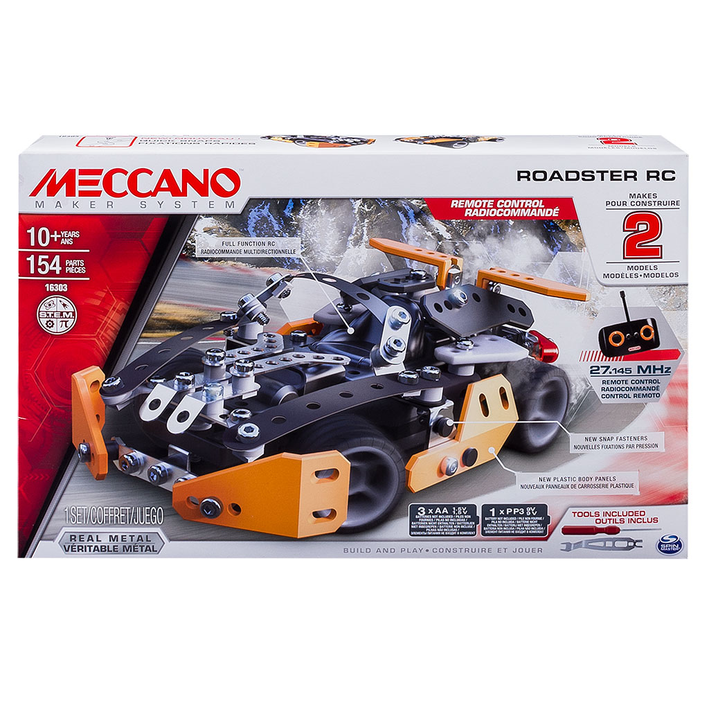 meccano race truck instructions