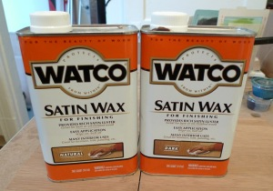 watco satin wax instructions