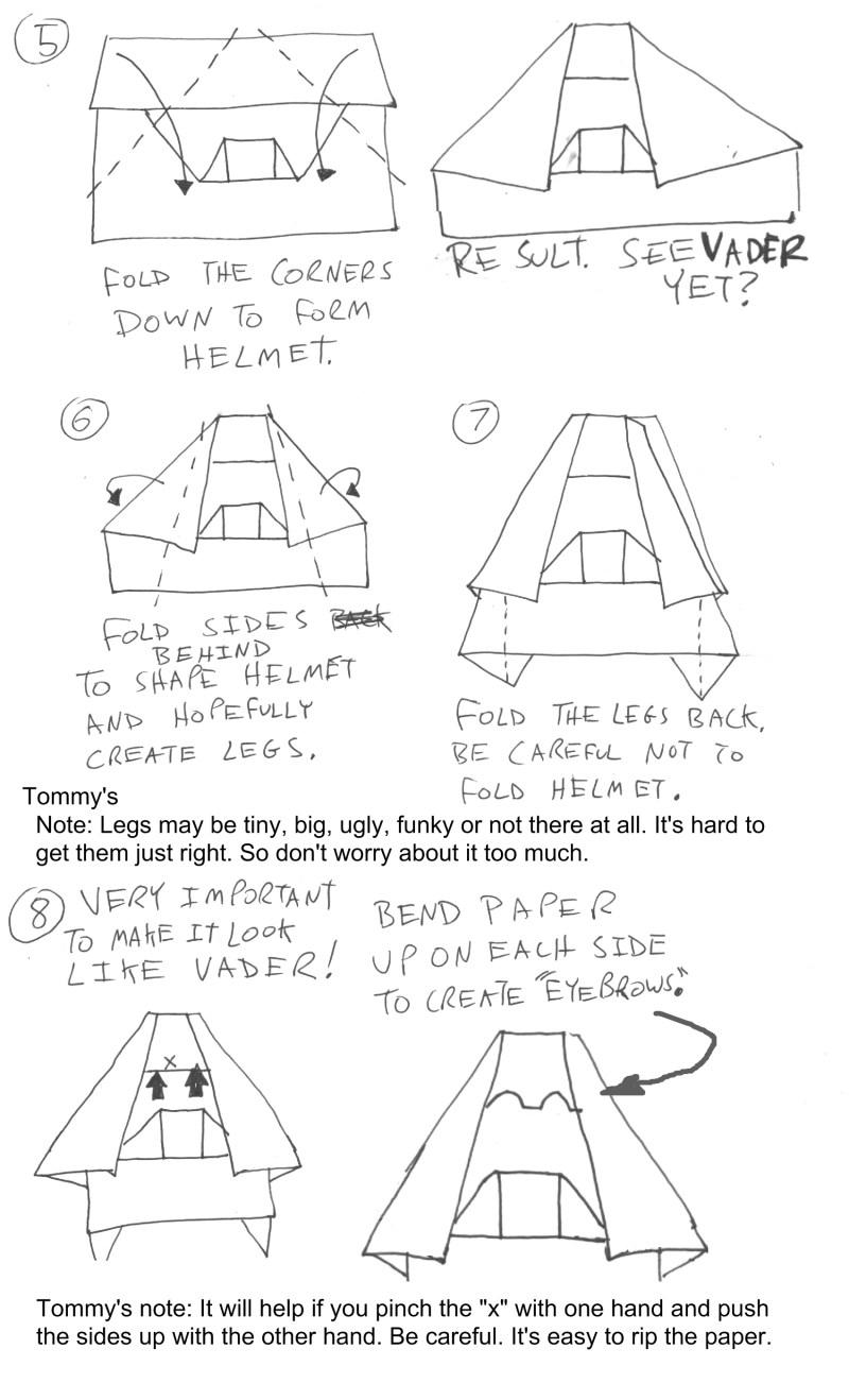paper popper folding instructions