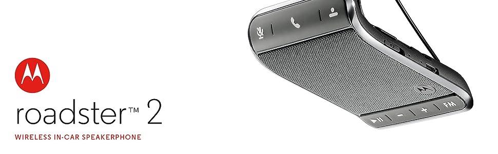 motorola roadster 2 universal bluetooth in-car speakerphone instructions
