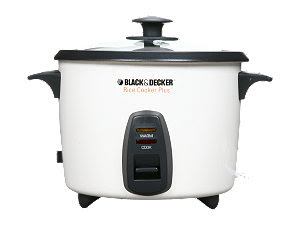 rice steamer instructions black and decker