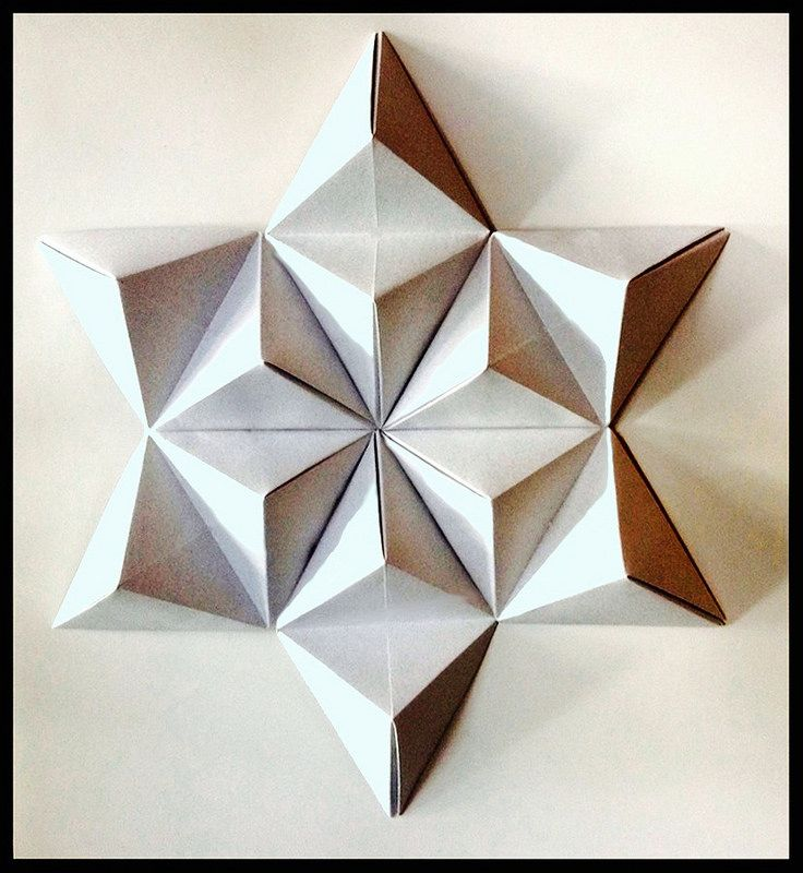 origami 3d shapes instructions