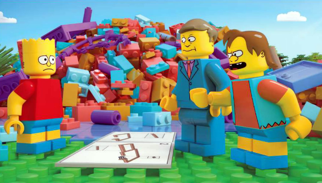 lego dimensions simpsons tv instructions