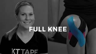 kt tape instructions inner knee