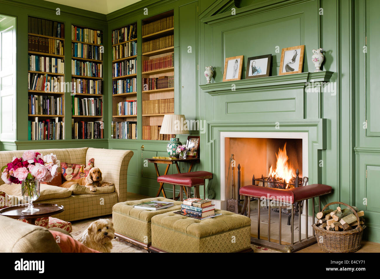 instructions on how to design a horizontal fireplace