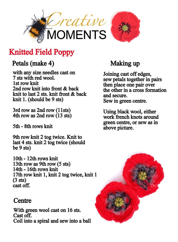 cadet dress instructions poppies