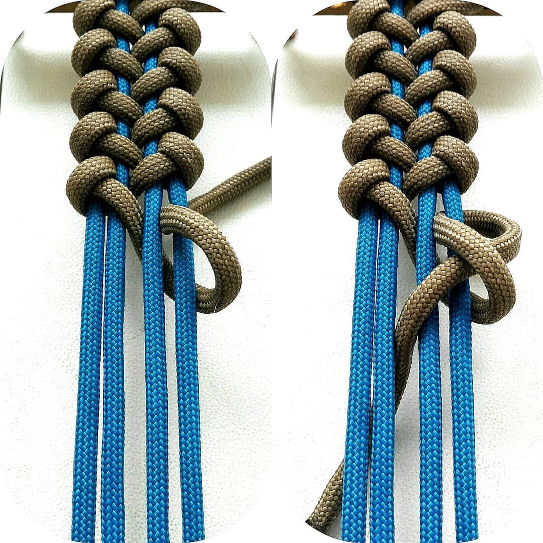 550 cord braid instructions
