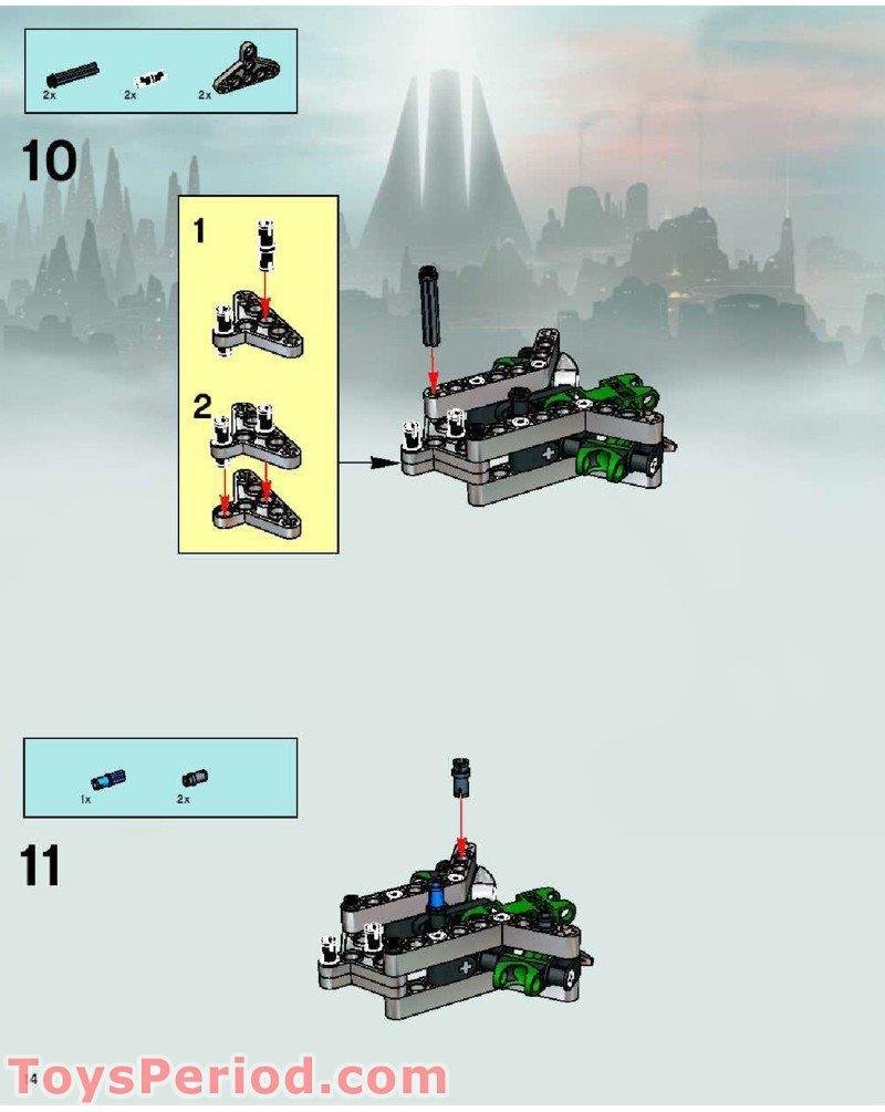 lego bionicle krekka building instructions