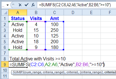 excel cell with written instructions