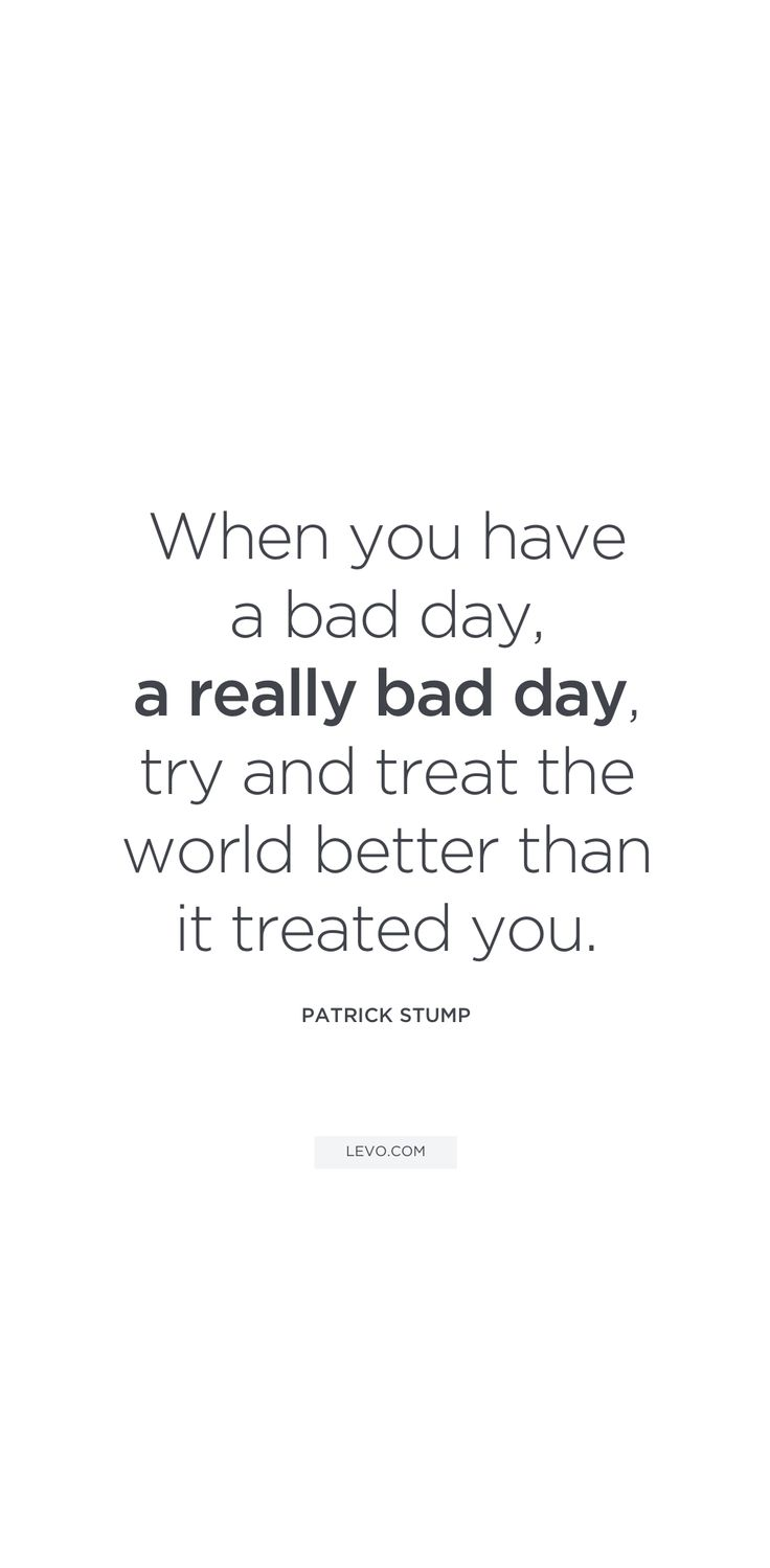 instructions for a bad day quotes