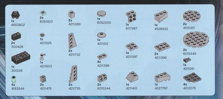 lego star wars mini millennium falcon 4488 instructions