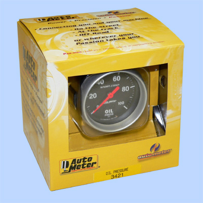 autometer sport comp oil pressure gauge instructions