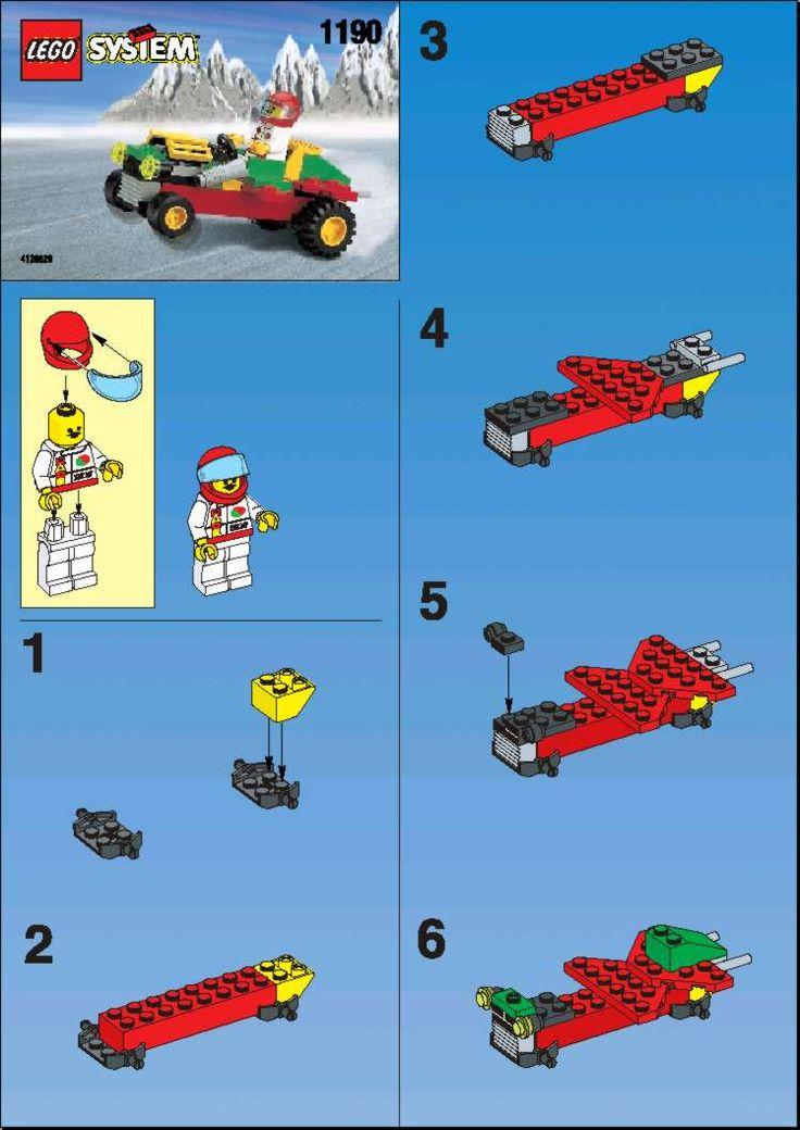 duplo cars mack instructions