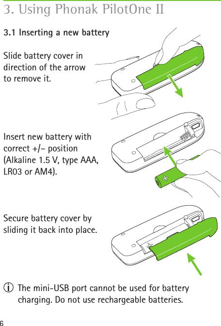 phonak pilot one remote control instructions