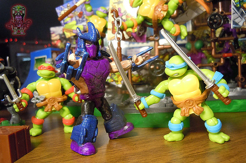 mega bloks ninja turtles out of the shadows instructions