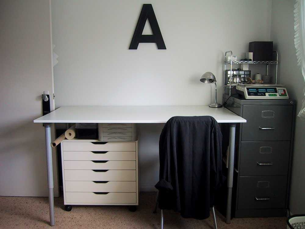 ikea galant desk drawer instructions