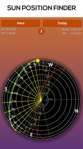 sun seeker app instructions