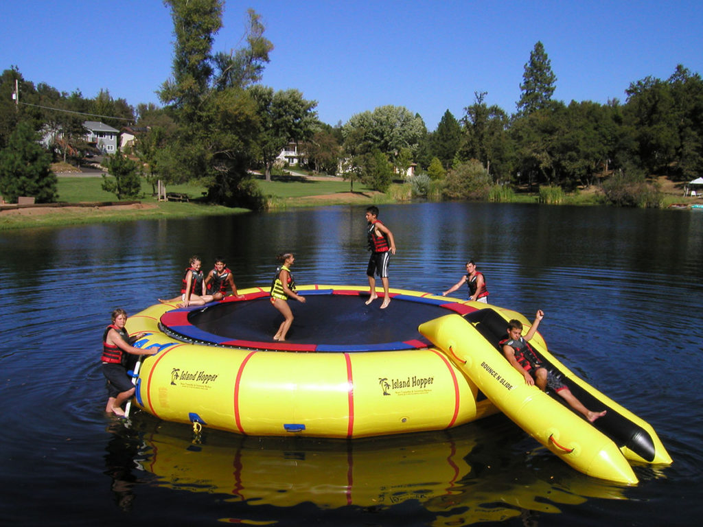 double water slide inflatable instruction