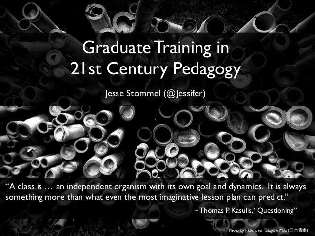 instructional pedagogies for workshops