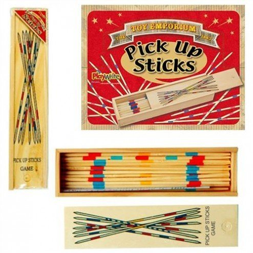 house of marbles pick up sticks instructions