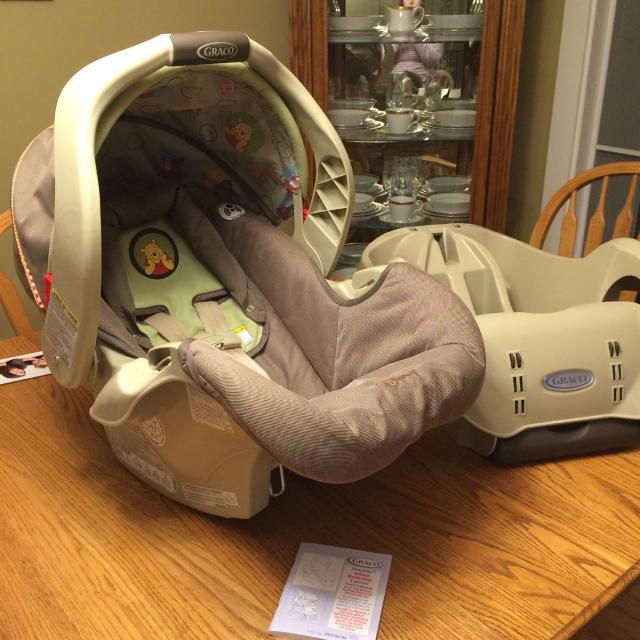 graco disney car seat instructions