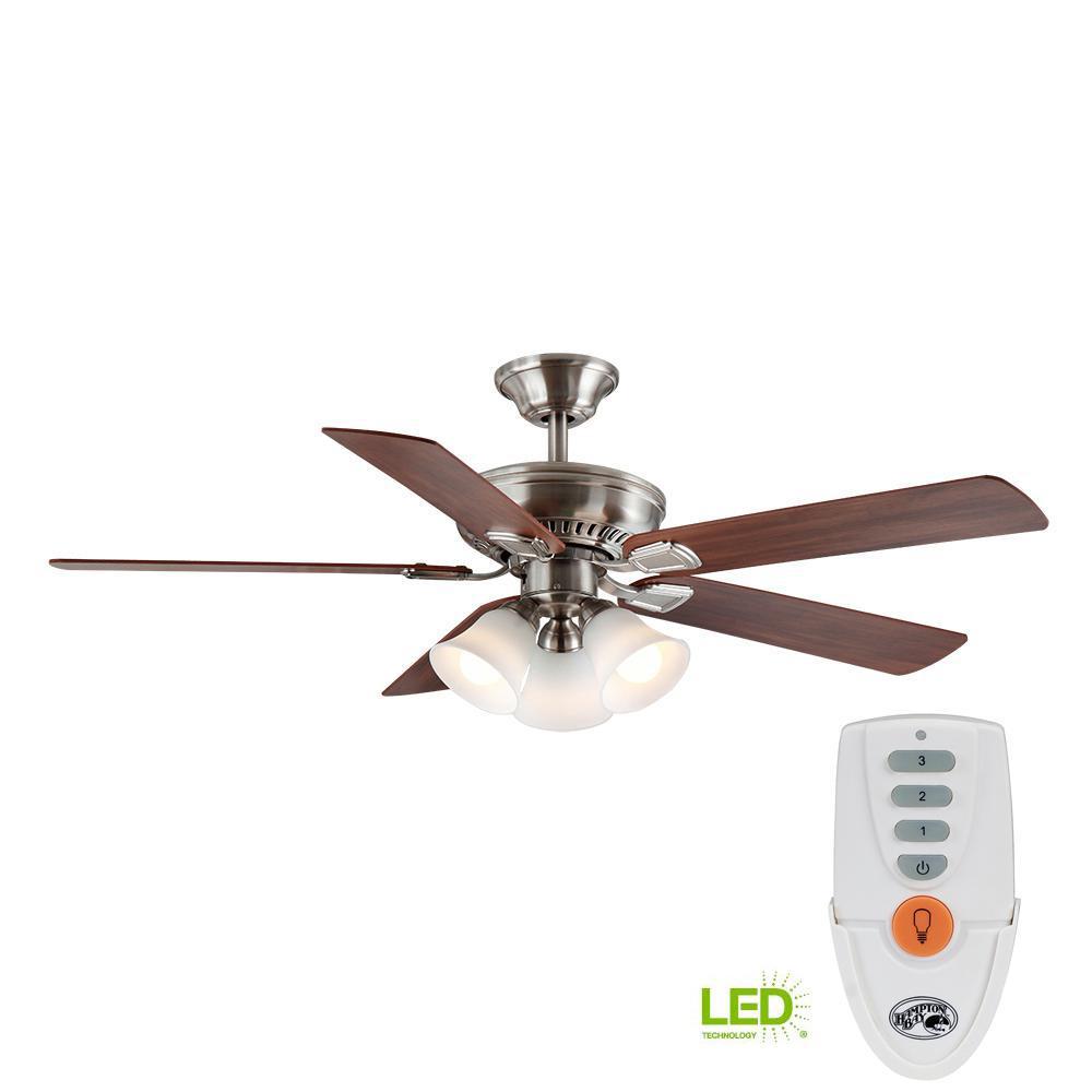 hampton bay ceiling fan instructions remote