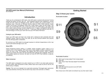 acs heart monitor instructions