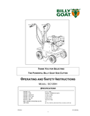 billy goat sod cutter instructions