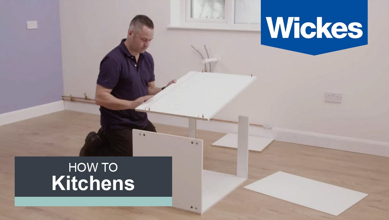 wickes kitchen units assembly instructions
