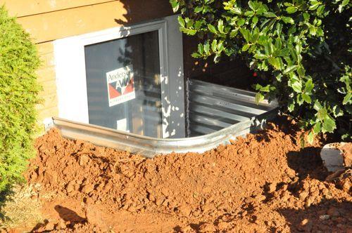 aluminart basement window installation instruction